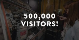 Adler Planetarium Reaches 500,000 Visitors Press Materials
