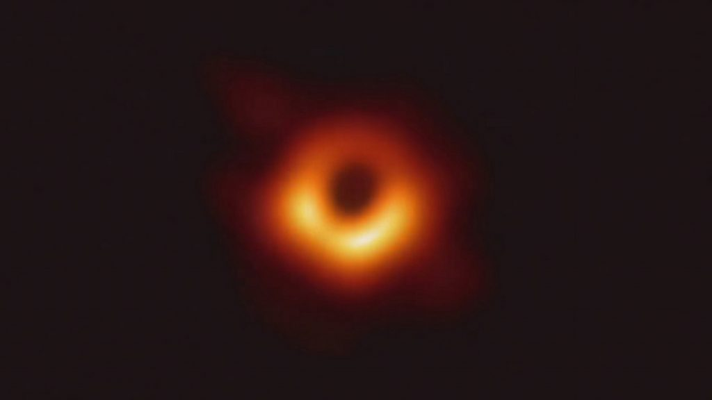First ever picture of a black hole.