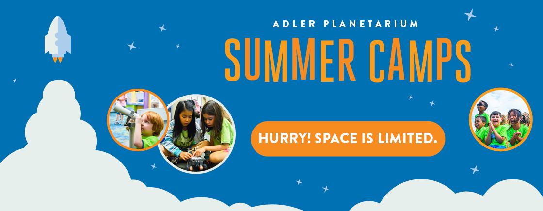 Register for Adler Planetarium Summer Camps!