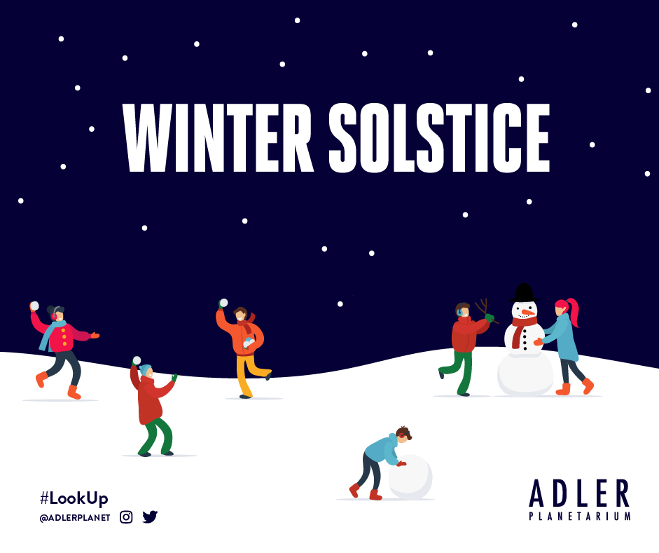 The Winter Solstice will occur on December 21st, 2019 at 10:19pm