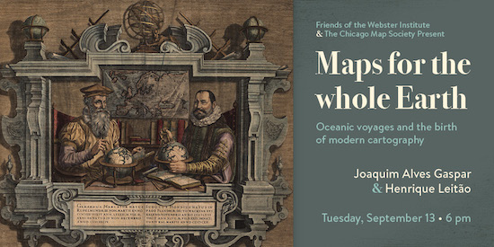 Join us for Maps for the whole Earth, a Friends of the Webster Institute lecture!