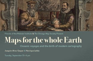 Join the Adler for Maps for the whole Earth lecture!