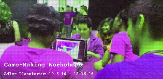 Join the Adler Planetarium's free Game-Making Workshop!