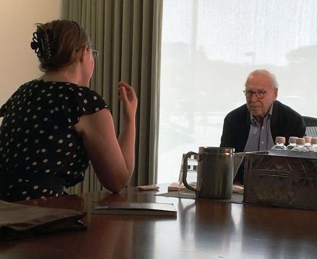 Senior Writer Aubrey Henretty interviews Captain Lovell in 2016.