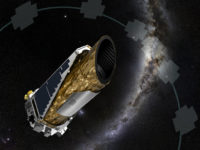Artist Concept of the Kepler Space Telescope operating during a new mission to find planets. Credit: NASA Ames/JPL-Caltech/T Pyle