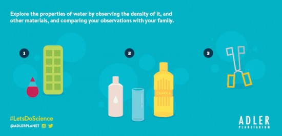 Explore the properties of water with this Let's Do Science experiment!