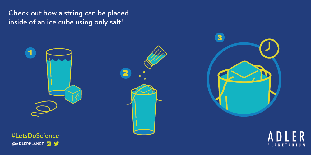 Learn about the properties of salt with this Let's Do Science Experiment!