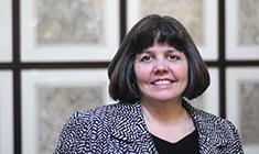 Adler Planetarium Vice President and CFO Marcia Heuser