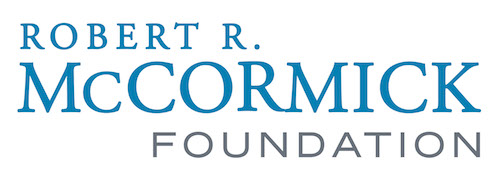 Thank you to our sponsor, the Robert R. McCormick Foundation Logo