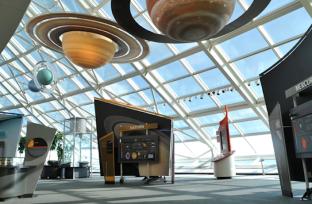 exhibits adler planetarium
