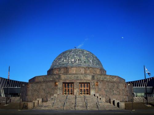 The Adler Planetarium, Exterior
