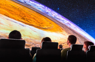 Explore our vast Universe in the Adler Planetarium's sky show 'Destination Solar System.'