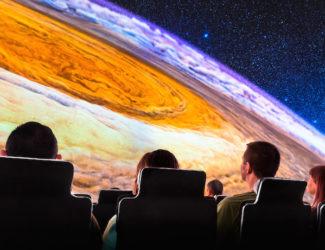 Explore our vast Universe in the Adler Planetarium's sky show 'Destination Solar System.'
