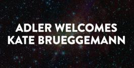 Welcome Kate Brueggemann, new Vice President of Development at the Adler Planetarium.