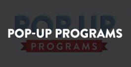 Pop-Up Programs at the Adler over winter break December 27-31