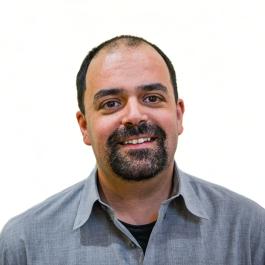 Pedro Raposo of the Adler Planetarium's Collections Department