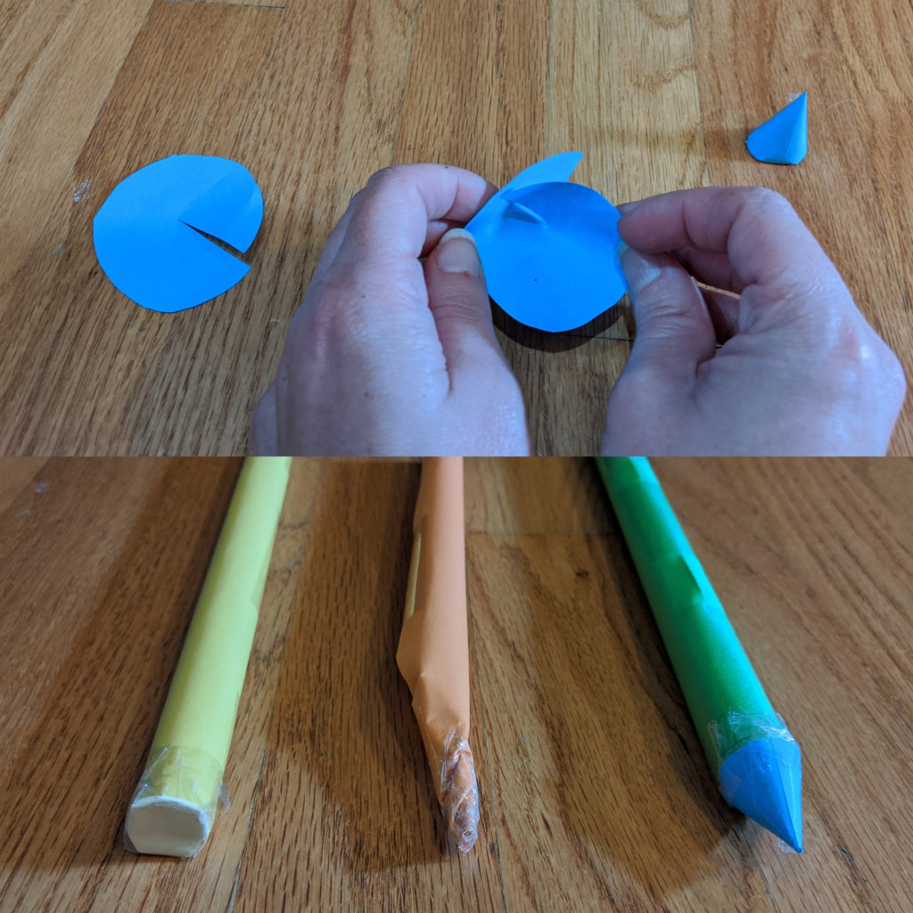 Here are several examples of stomp rockets you can make, including examples of the different tops to the rockets