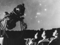 Header Image: Planetarium guests attend a sky show with the Zeiss Mk II projector at the Adler c. 1955. Image Credit: The Adler Planetarium Archives