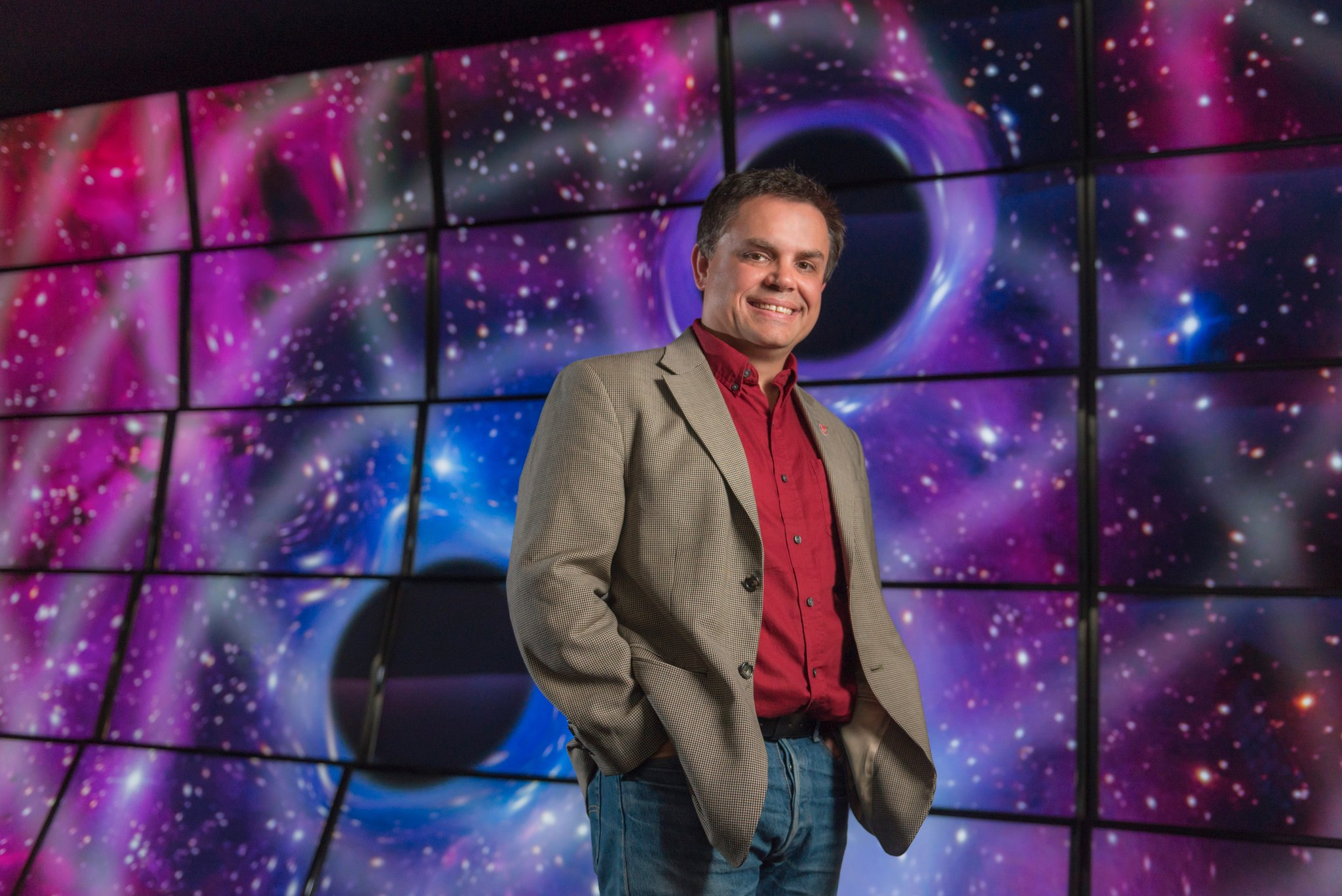 """Dr. Shane Larson, presenter of """"The Cosmos in a Heartbeat"""""""