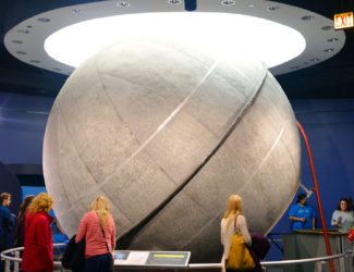 The historic Atwood Sphere.